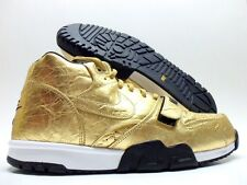 "NIKE AIR TRAINER 1 PRM QS (NFL) ""SUPER BOWL"" GOLD/BLACK MEN'S 9.5 [840169-700]"