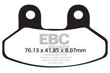 FIT SYM  RS 50 04>09 EBC FRONT CARBON BRAKE PADS