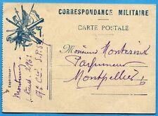 CPA: Correspondance militaire - Carte postale / Guerre 14-18 / 1915