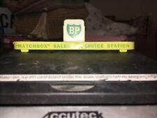 Vintage Match Box BP Garage Sign