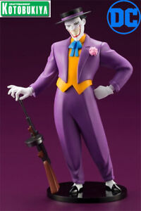 Kotobukiya DC Batman The Animated Series Joker ARTFX+ PVC Statue New In Stock