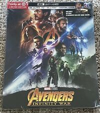 AVENGERS INFINITY WAR 4K UHD BLU-RAY DIGITAL TARGET EXCLUSIVE BRAND NEW SEALED!