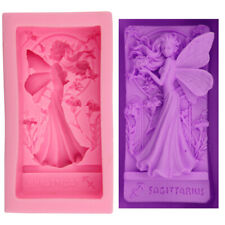 Fairy Girl Silicone Fondant Chocolate Baking Mold Soap Candle Wax Making Mould