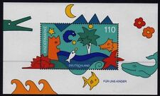 Germany 1998 Childrens Stamps mini sheet SG MS2843 MNH