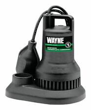 Wayne  1/3 hp 2100 gph Thermoplastic  Submersible Sump Pump
