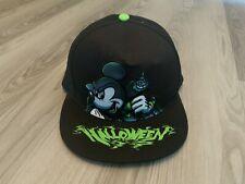 DISNEY PARKS MICKEY MOUSE DRACULA HALLOWEEN YOUTH BASEBALL CAP/HAT