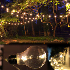 Battery Powered 20-LED Fairy String Light Edison Bulb Lamp Home Garden Party UK