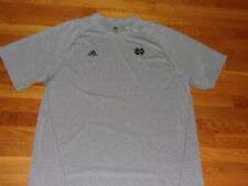 ADIDAS CLIMALITE NOTRE DAME SHORT SLEEVE JERSEY MENS 2XL EXCELLENT CONDITION