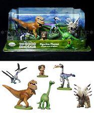 NEW Disney THE GOOD DINOSAUR Figurine Playset 6 Figures CAKE TOPPERS Arlo BUTCH