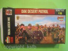 NEU 1:72 Strelets M081 WKII DAK Afrika Korps Wüsten Patrouille Soldaten Figuren