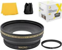 72mm Pro Series Wide Angle Lens for Nikon Coolpix P900 Sony DSC-R1