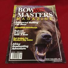 Bow Masters Magazine Spring Annual 1995~Archery Hunting~Bear, Bobcats, Africa