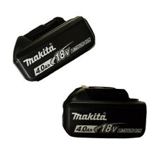 2 GENUINE Makita BL1840B 18V Batteries 4.0Ah BL1840B-2 BL1840-2 For Drill Saw