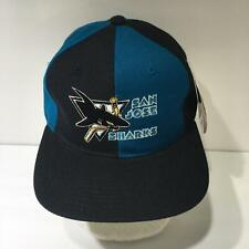 Vintage NHL San Jose Sharks Starter Snapback Cap Hat OSFA NWT