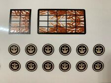 Custom stickers for Lego Pirates of the Caribbean Queen Anne's Revenge 4195