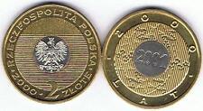 ROK  2000 2 Zl Muenze Nordic-Gold, BFR,