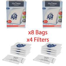 Miele Complete C3 Cat&Dog PowerLine - SGEE1 HyClean Vacuum Cleaner Dust Bags x8