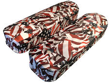 Hydro Dipped American Flag Chevy Big Block Valve Covers 6822G