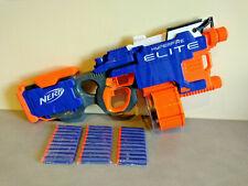 Pistolet Fusil Sniper NERF N-STRIKE HYPERFIRE BLEU MOTORISE 30 Fléchettes Neuves
