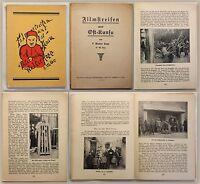 Hopp Filmstreifen aus Ost-Kansu 1930 Asien China Reisen Mission illustriert xz