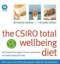 THE CSIRO Total Wellbeing Diet: Dr Manny Noakes Book 1 Well being Diet