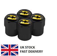 4 X Batman Logo Car Tyre Valve Dust Caps Emblem. FREE UK P&P