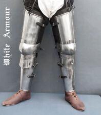 Medieval Halloween Ancient Reenactment Sca Larp Set Leg Armor Replica Gift Item