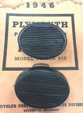 NEW 1946,1948,1949,1950,1951,1952 1953 1954 Plymouth Clutch Brake Pedal Pad Set