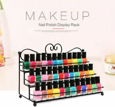 3 Tier Metal Nail Polish Display Rack Organizer Wall Holder Over 60 Bottles