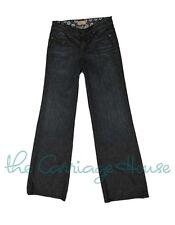 NWT $203 Paige Premium Denim Hillside Wideleg Jeans in Lunada Bay size 27