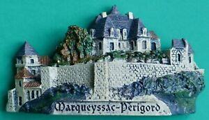 Souvenir Fridge Magnet Marqueyssac Chateau And Gardens Vezac Perigord France