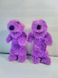 Disney Bear in the Big Blue House Pip Pop Purple Otter Plush Vintage 1999 Mattel