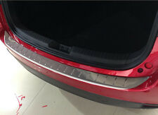 Outer Rear Sill Bumper Cover Plate 1pcs For Mazda 3 AXELA M3 2014-2016 Hatchback