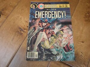 All New Emergency #4 (1976 Series) Charlton Comics Extremely RARE!!!
