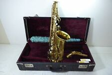 SELMER PARIS 1947 SUPER BALANCED ACTION VINTAGE ALTO SAXOPHONE PERFECT CONDITION
