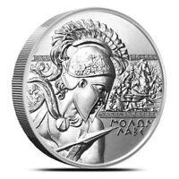 2 oz .999 Fine Silver Round High Relief - Molon Labe (Type 1 Type I) IN-STOCK!!