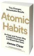 NEW Atomic Habits By James Clear Paperback Free Shipping