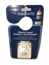 Travelocity World Travel Adapter And Charger Universal Built In Usb Tv-Wta New
