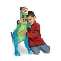 Melissa & Doug Giant T-Rex Dinosaur -  Lifelike Stuffed Animal  plush new 70cm
