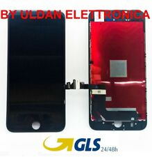 TOUCH SCREEN LCD DISPLAY RETINA FRAME PER APPLE IPHONE 7 PLUS VETRO SCHERMO NERO