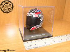 MAX BIAGGI MOTO-GP 2001 SUOMY HELMET CASCO CASQUE 1/5 MINT