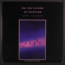"""JERRY GOODMAN: on the future of aviation Private Music 12"""" LP 33 RPM"""