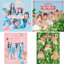 Red Velvet Cookie Jar SAPPY First Limited Edition Set 4 CD DVD Book 4 Card Japan
