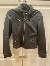 womans leather jacket Italy Size 42