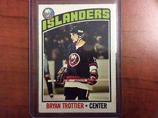 1976 O Pee Chee Rookie RC Bryan Trottier 🔥New York Islanders In VG Condition🔥