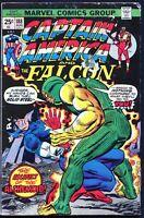 Marvel, Captain America and The Falcon #188 - Aug. 1975, $0.25 - Fine