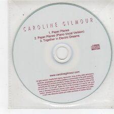 (FU29) Caroline Gilmour, Paper Planes - DJ CD