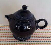 Fiestaware Cobalt Teapot Fiesta Dark Blue Large 44 oz Teapot with Lid
