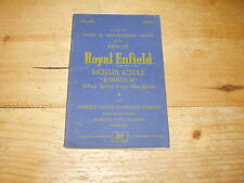 Spare & Replacement Parts List for Royal Enfield Ensign 11 148cc (Illustrated)