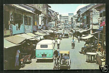 Singapore Chinatown Market Pasar Bus People 60s